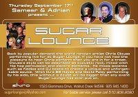 Sugar Lounge Finale @ Shiro's 9.17.09