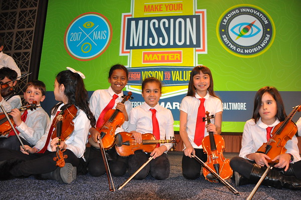Norwood Violinists Perform at the NAIS Annual Conference