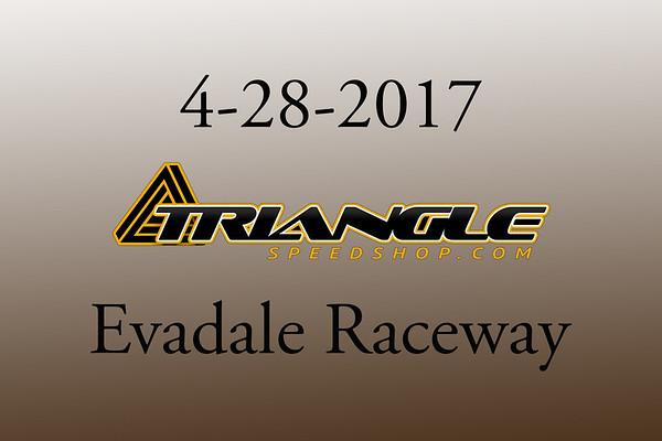 4-28-2017 Evadale Raceway 'Triangle Speed Shop' Track Rental