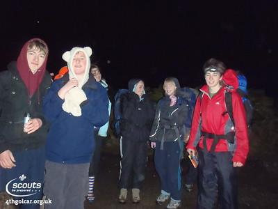 January - Night Hike