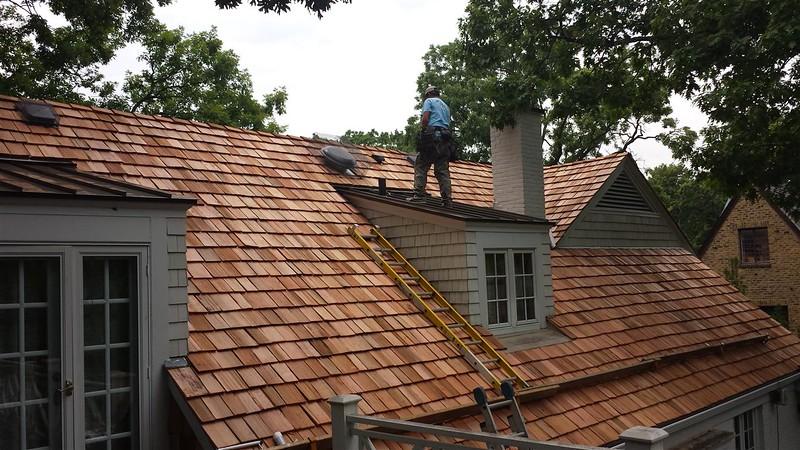 Cedar Roofing & Standing Seam