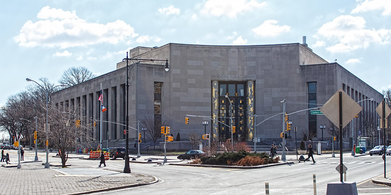 Brooklyn Public Library - from Grand Army Plaza