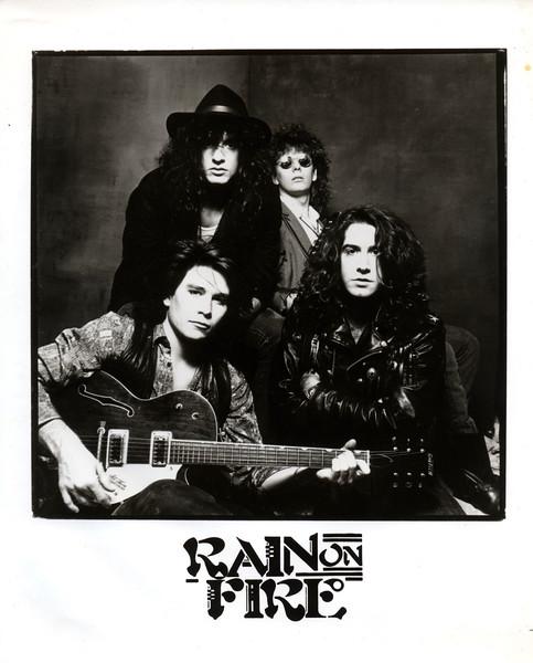 Rain On Fire