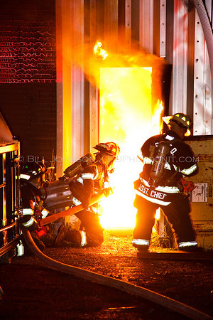 Structure Fire - Royal Carting Corp - East Fishkill Fire District -8/29/09