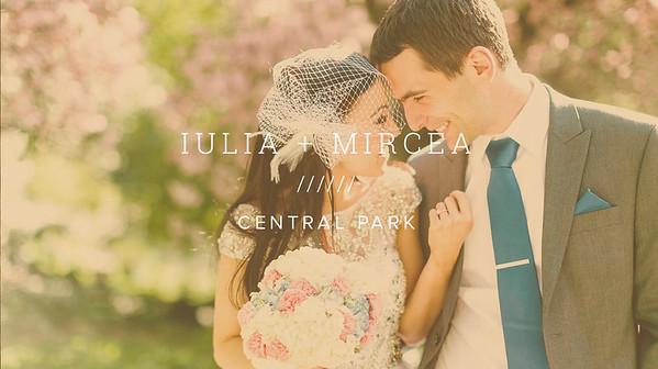 IULIA + MIRCEA ////// CENTRAL PARK