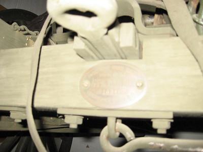 MODEL OF 1917 AMMUNTION CART #109485