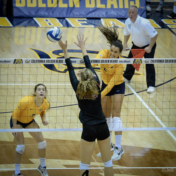 2015-09 Cal VB vs Stanford