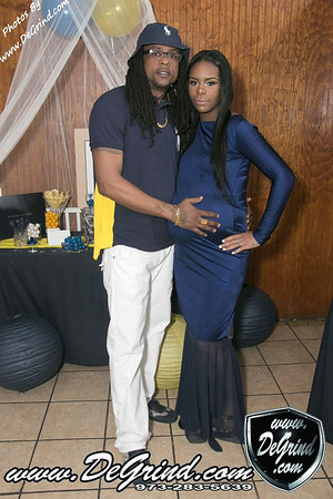 ALLISHIA & CONNELL BABY SHOWER
