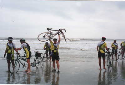 Pacific to Atlantic Bicycle Ride 1995