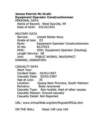 James McGrath...01Feb67...NSA Da Nang