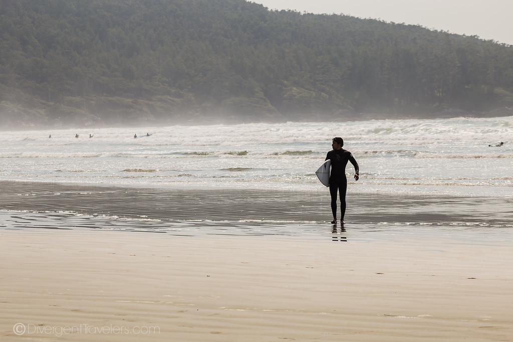 Tofino - Surfing - Lina Stock