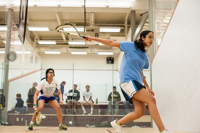 2013-12-07 Sherouk Khefagy (Mount Holyoke) and Meera Nayar (Wellesley)