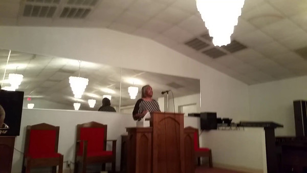 PROPHETESS VERNA BROOKINS LABOR DAY SERMON IN MACON, GEORGIA AT HER SISTER'S CHURCH - PASTOR CYNTHIA ANDREWS AT NEW LIFE WORD MINISTRIES ON SUNDAY, SEPTEMBER 6, 2015 AT 9:30 A.M.