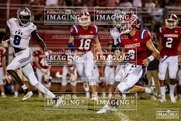Hammond Varsity Football vs First Baptist