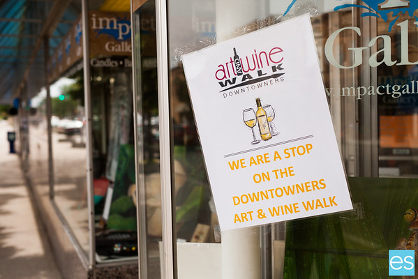Downtown Art & Wine Walk