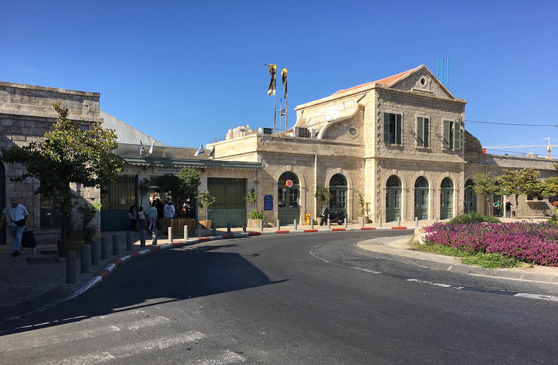 The first Jerusalem Railway Station