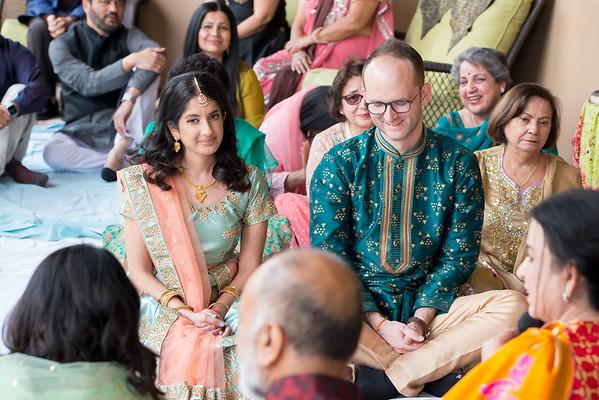 Shivani and Aidan