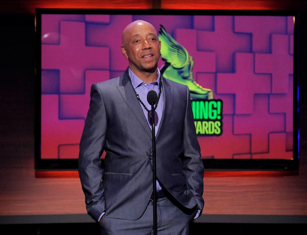 . Russell Simmons speaks on stage at the Do Something Awards at the Avalon on Wednesday, July 31, 2013, in Los Angeles. (Photo by Chris Pizzello/Invision/AP)