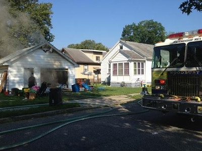7-16-2013 (Gloucester County) WOODBURY - Salem Ave - Structure Fire