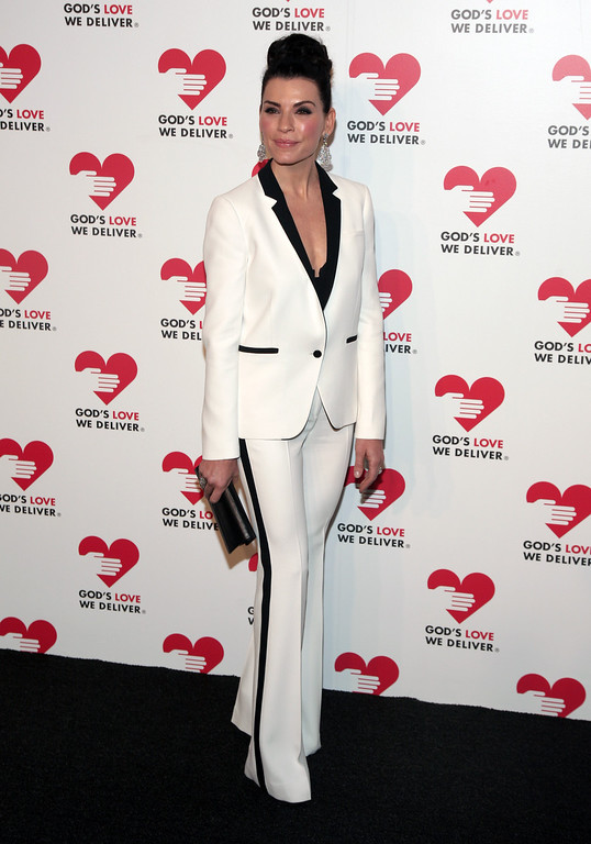 . Actress Julianna Margulies attends the 2013 Golden Heart Awards Gala on Wednesday, Oct. 16, 2013, in New York. (Photo by Andy Kropa/Invision/AP)