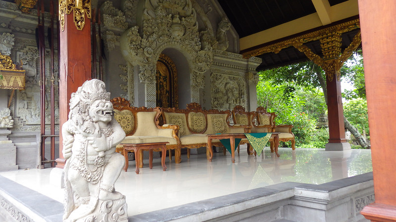 About 85% of Bali's population adhered to Balinese Hinduism.