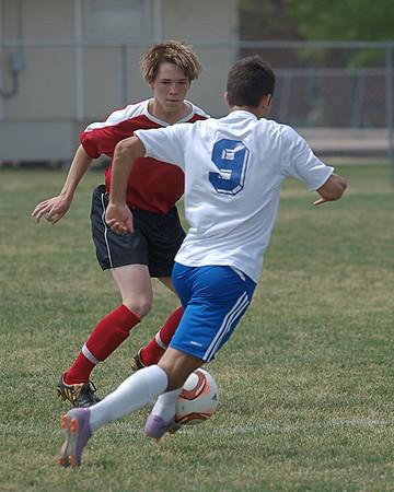Railyard Soccer vs. Crossfire  4.2.2011