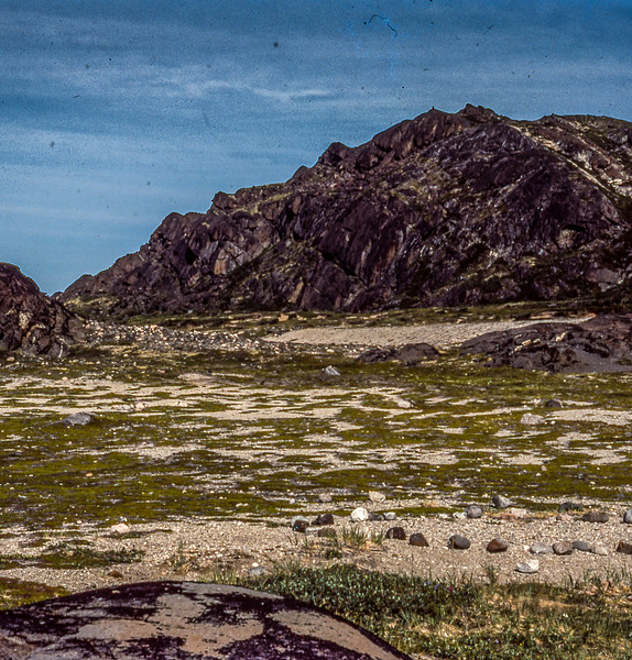 Inuit tent circles of rock, Labrador