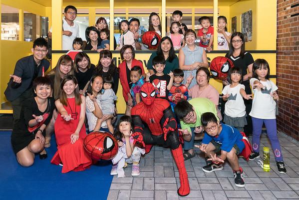 Spiderman Promo Event