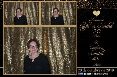 Sandra & Luife's Anniversary - October 20th, 2018