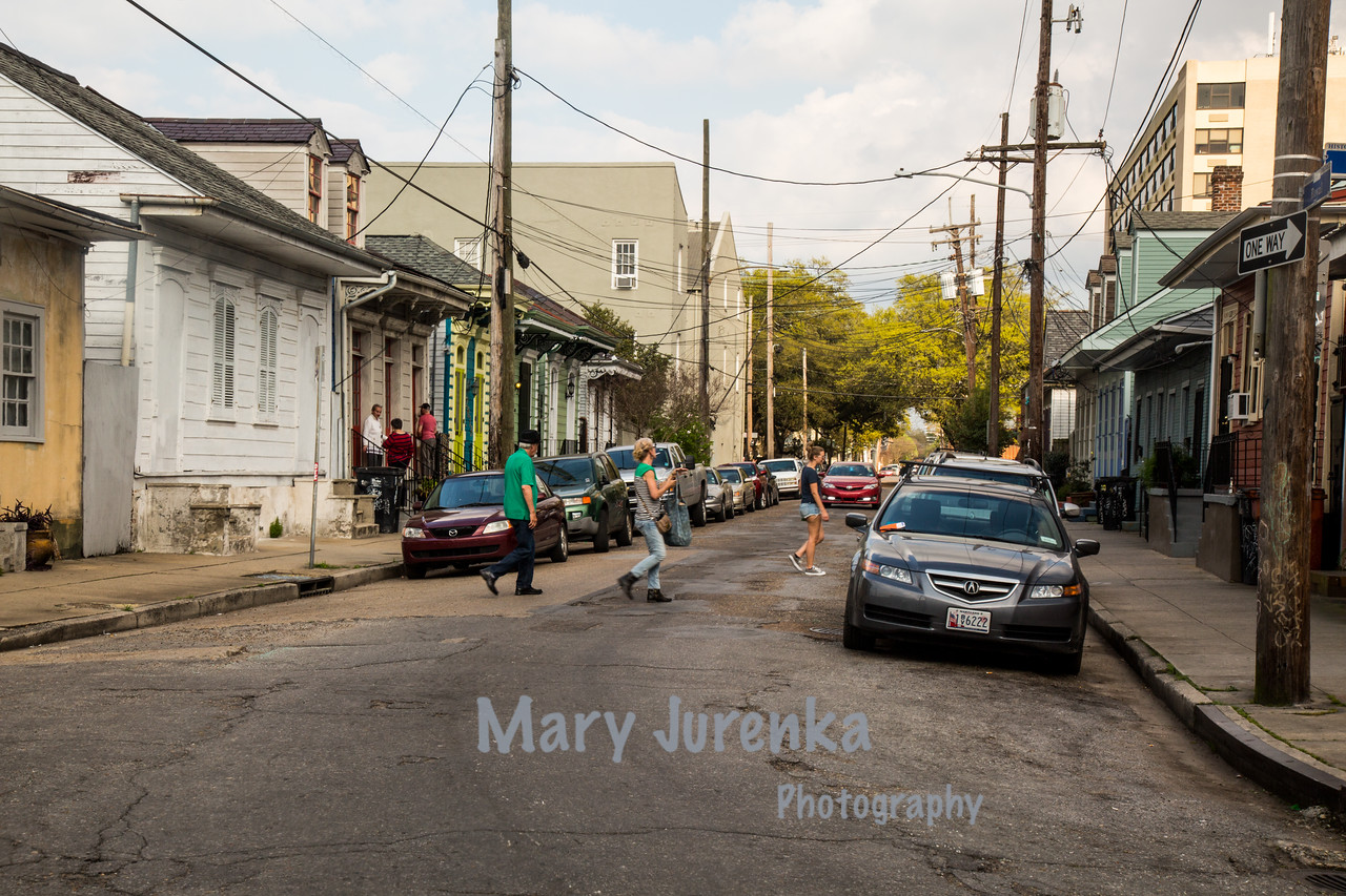New Orleans 2015-Bywaters Neighborhood in the 9th Ward