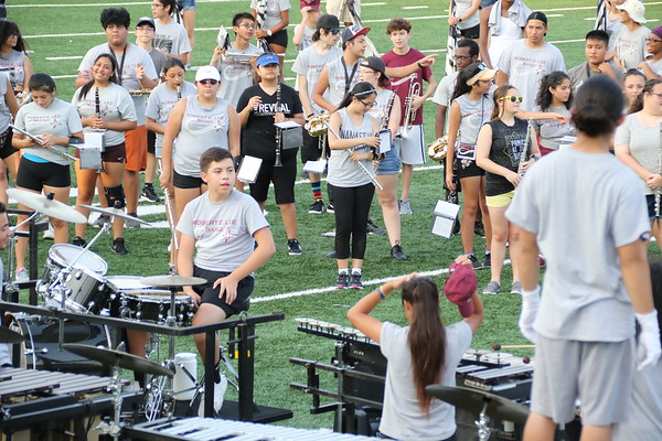Band  Fall Preview, August 22, 2018