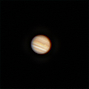 Jupiter f/8 - 24/6/2020 (Processed cropped stack)
