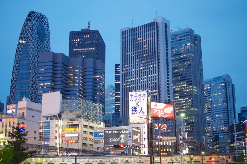 Tokyo Shinjuku Skyscraper