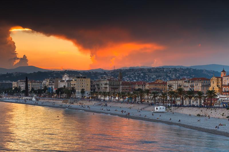 Nice, Cote d'Azur, France.