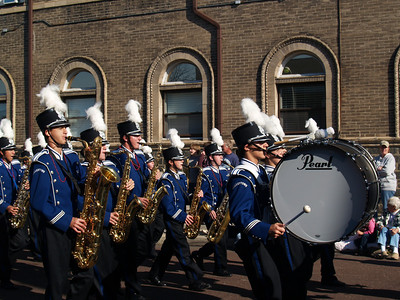 QCHS Band - '08 Halloween Parade, Band Night, and Homecoming