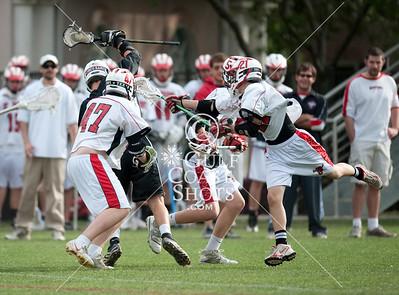 2010-04-09 Lacrosse JV Boys Cinco Ranch at SJS
