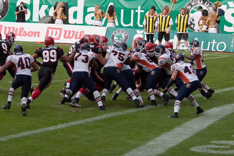 Cologne Centurions - Amsterdam Admirals (31-13), Cologne, 6th of June 2007.