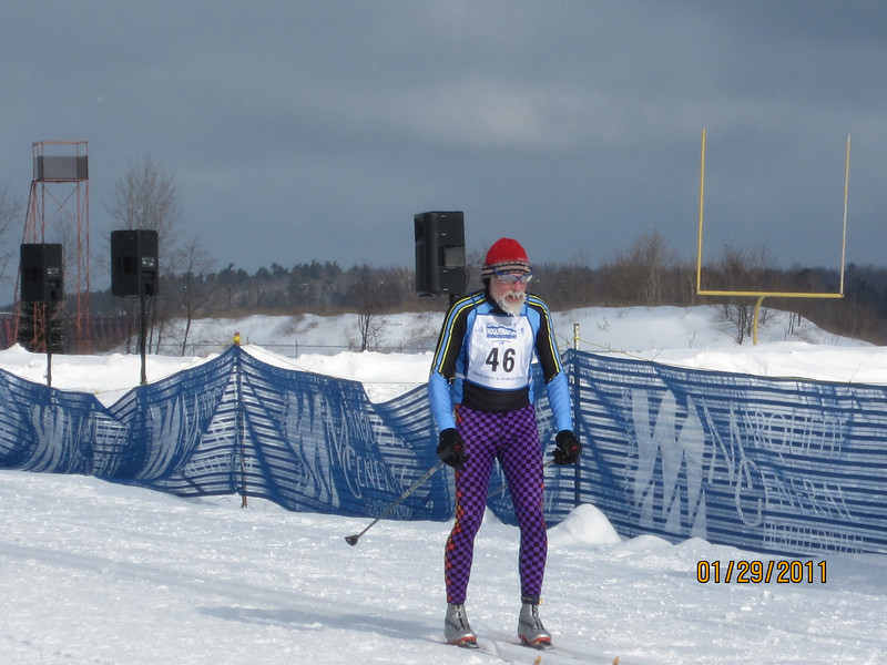 Chris Weingartz Straits Striders doing a light work out while preparing for the US Masters in 2012.