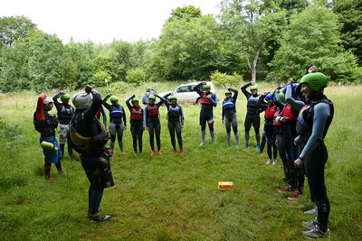 Canyoning 1300hrs 07/08/2017
