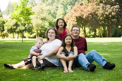 Lisa & Kyle - Family Village Redmond - 2009