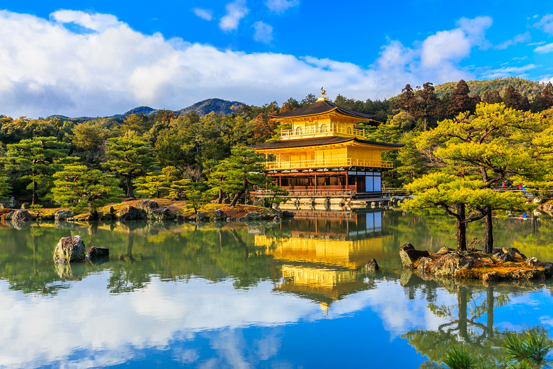 Golden Pavilion at Kinkakuji Temple