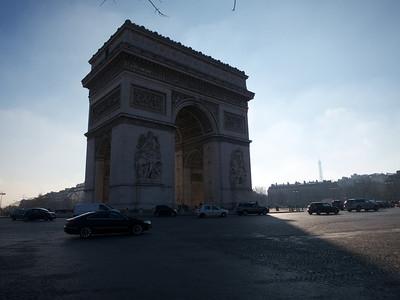 Paris 2013-01-14 Etoile and La Defence