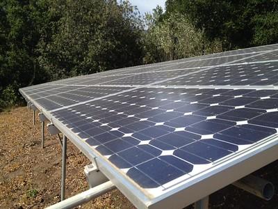 Oil, Solar, Wind Turbine Sites