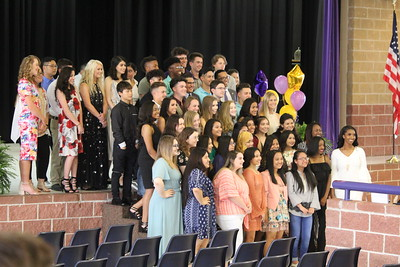 National Honor Society Induction Ceremony at Center High School