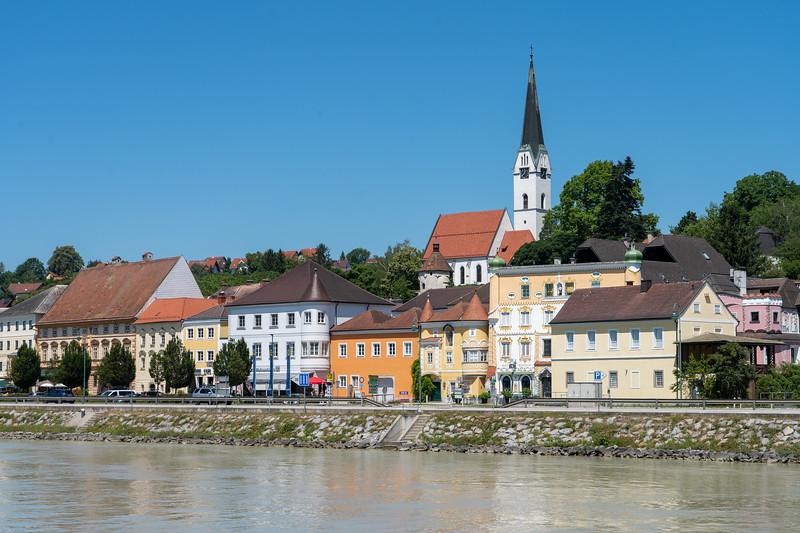 Sailing along the Danube in Austria