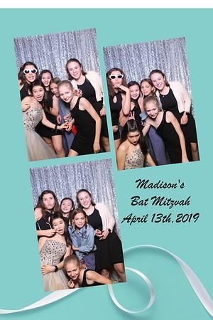 Madison's Bat Mitzvah April 13th