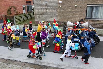 Carnavalstoet scholen Wuustwezel-centrum 2016
