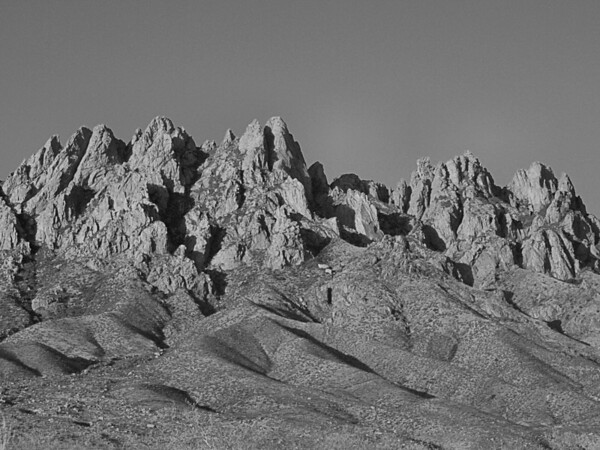 Organ Mountains and Hayner Ruby Mine 7.3.2011