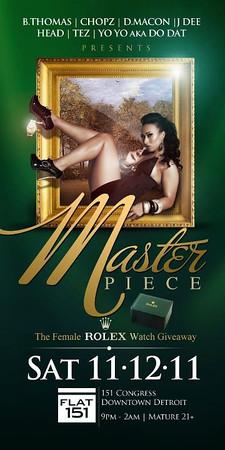 Master Piece 11-12-11