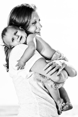 Amy + Theron = Briar (Family Photography, Seabright Beach, Santa Cruz, California)
